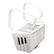 Non-Para Toilet Bowl Block, Lasts 30 Days, White, Evergreen Fragrance, 12/Box