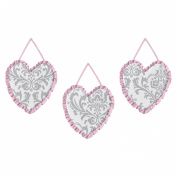 Pink, Grey and White Elizabeth Wall Hanging Accessories by Sweet Jojo Designs