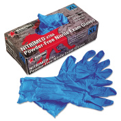 Nitri-Med Disposable Nitrile Gloves, Blue, Extra Large, 100/Box