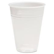 BoardWalk TRANSCUP7CT Translucent Plastic Cold Cups, 210ml, 100/Bag, 25 Bags/Carton