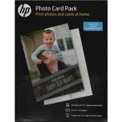 Photo Card Pack, Assorted Sheet Size, 10 Envelopes, White
