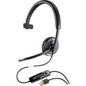 Blackwire C510-M Monaural Over-the-Head Corded Headset, Microsoft Optimized