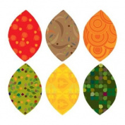 Fall Leaves Fabric Wall Stickers