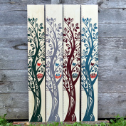 Wooden Growth Charts - The Growing Tree Collection