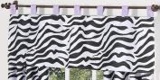 Purple Funky Zebra Window Valance by Sweet Jojo Designs