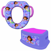 Nickelodeon Soft Potty and Step Stool Combo Set