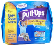 Huggies Pull-Ups Learning Designs Training Pants Biggie Pack Size 2T-3T Boy 56ct.