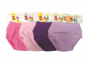 Bright Bots Potty Training Pants 4pk Small - Girl