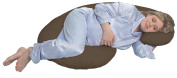Leachco Snoogle Total Body Pillow, Brown