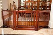 Primetime Petz 360. 3-Panel Wooden Household Pet Safety Configurable Gate Furniture