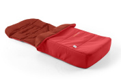 Bumbleride Footmuff & Liner - Cayenne Red