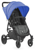 Valco Baby Snap4 Stroller in Black With Vogue Hood