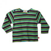 Zutano Infant Baby-Girls Midnight Stripe Long Sleeve T-Shirt