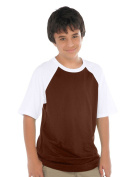 Kavio! Youth Crew Neck Raglan Short Sleeve