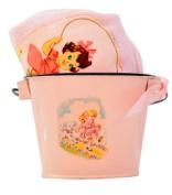 Vintage-style Pink Nursery Rhyme-Jump Rope Lap T-shirt & Bucket