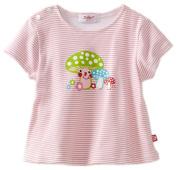 Zutano Baby-girls Infant Mushroom Smile Screen Swing Tee