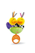 Fisher Price Miracles & Milestones Shake & Chirp Birdies Teether / Rattle