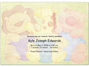 Animal Announcement Birth Announcements - Set of 20