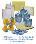 Mega Baby Boy Shower Kit! Great Gift item