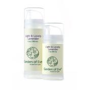 Garden of Eve Light & Lovely - Lavender Hand & Body & Nappy Cream (Certified Organic Ingredients) 90ml & 150ml