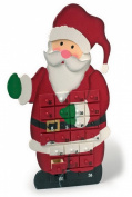 Father Christmas Wooden Advent Calendar
