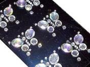 Crystals & Gems Uk 6 X 25Mm Stick On Diamante Butterfly Gems Self Adhesive Vajazzle Rhinestones