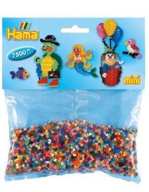 Hama Mini Beads Mixed Colours