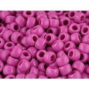 Opaque Pony Bead Pink Qty 1000