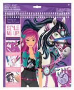 Style Me Up SMU Sketchbook Riding In Style