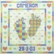 Pitter Patter Cross Stitch Kit from Cinnamon Cat [Toy]