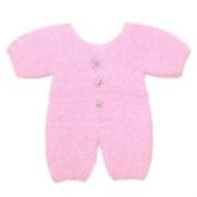 Syntego Embellishments - Baby Sleepsuit, Pink, 6cm approx
