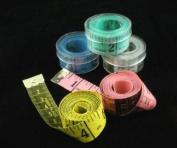 CKB Ltd 5x Wholesale Tailor Tailors Soft Tape Measure Sewing 150cm includes Boxes