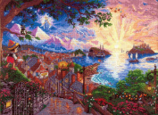 Disney Dreams Collection PINOCCHIO WISHES UPON A STAR counted cross stitch kit KINKADE