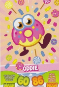 Topps No.23 Oddie Foodies Moshi Monsters Mash Up Trading Card