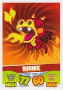 Topps No.03 Burnie Beasties Moshi Monsters Mash Up Trading Card