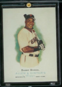 2006 Topps Allen & Ginter #100 Barry Bonds San Francisco Giants Baseball Card -
