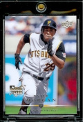 2008 Upper Deck # 330 Nyjer Morgan (RC) Pirates - MLB Rookie Baseball Trading Card Screw Down