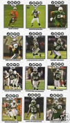 2008 Topps New York Jets Complete Team Set of 13 cards including Dustin Keller rookie, Thomas Jones and more
