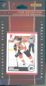 2010 /11 Score Hockey Cards Team Set - Philadelphia Flyers- 17 Cards Including Stars- Mike Richards, Jeff Carter, Daniel Briere, Claude Giroux and more Rookie cards of Jeremy Duchesne and Carter Hutton.