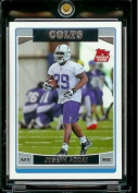 2006 Topps # 364 Joseph Addai (RC) - Rookie Card - Indianapolis Colts - NFL Football Card