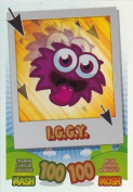 Topps No.137 I G G Y Rainbow Foil Card Moshi Monsters Mash Up Trading Card