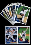 2010 Topps Baseball Cards Complete TEAM SET