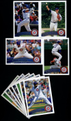 2011 Topps Chicago Cubs Complet Series 1 & 2 Team Set - t Deluxe Arcylic 23 Cards including Starlin Castro, Marmol, Cashner, A Ramirez, Dewitt, Garza, Darwin Barney RC & more