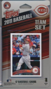 2011 Topps Limited Edition Cincinnati Reds Baseball Card Team Set (17 Cards) - Not Available In Packs