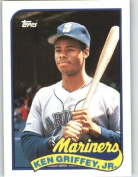1989 Topps Traded #41T Ken Griffey Jr. RC - Seattle Mariners (RC - Rookie Card)