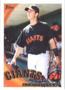 2010 Topps Baseball Card #2 Buster Posey San Francisco Giants Rookie Card (RC) - Mint Condition -