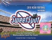 2010 Upper Deck NCAA Sweet Spot Football Hobby Box