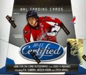 2010/11 Panini Certified Hockey Hobby Box NHL