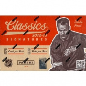 2012/13 Panini Classics Signatures Hockey Hobby Box NHL