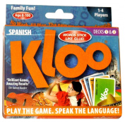 KLOO's Learn to Speak Spanish Language Card Games Pack 1